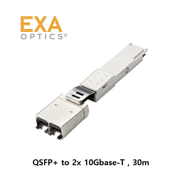 QSFP-2X10G-T COPPER